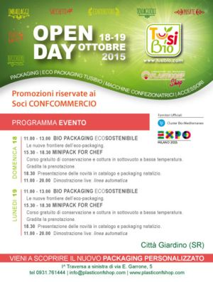 Open Day 18 - 19 Otobre 2015