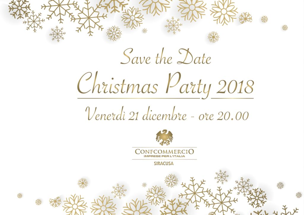 Christmas Party Confcommercio